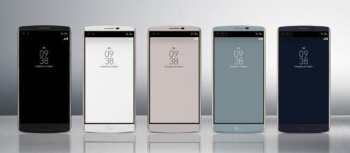 LG V10 y su diseño que rompe esquemas