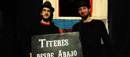 """Miembros de la compañía """"Títeres desde Abajo"""""""