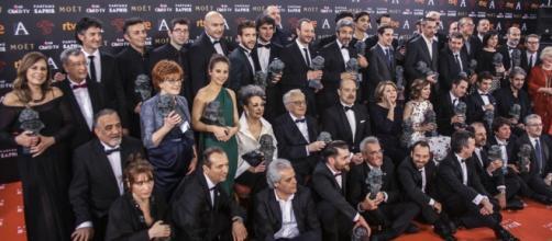 Palmares oficial Premios Goya 2016