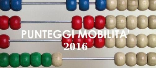 Punteggi mobilità staordinaria 2016
