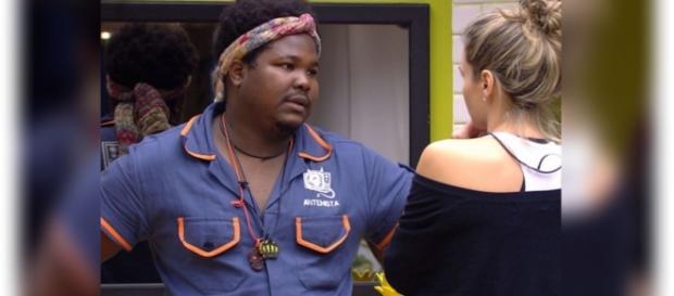 Ana Paula e Ronan estão no falso paredão do BBB16