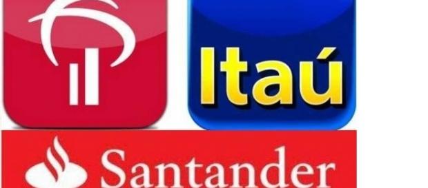 Bradesco, Itaú e Santander disponibilizam vagas