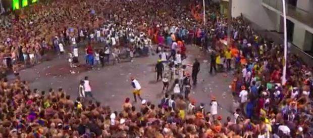 Briga em Salvador - Foto/Reprodução: G1