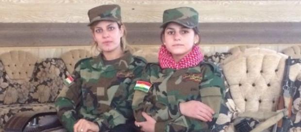 Două femei yazidi ce luptă împotriva ISIS-Foxnews