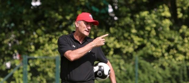 Edgardo Bauza treinador do São Paulo (Fonte: SPFC)