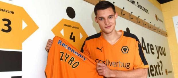 Michał Żyro strzelił już 3 gole w barwach Wolves