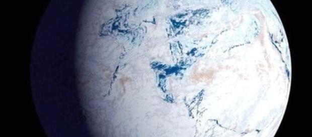 """Pământul, un """"bulgăre de gheață"""""""