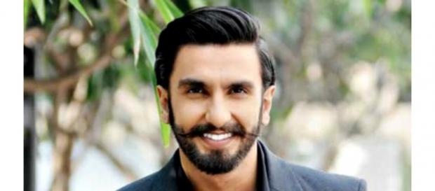 Ranveer Singh looks dapper in a black suit