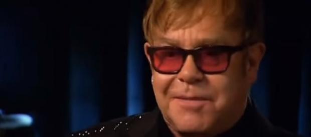 Replica Sanremo 2016 9 febbraio, Elton John