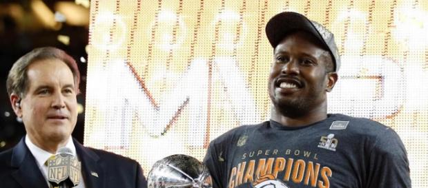 Von Miller MVP del Super Bowl 50