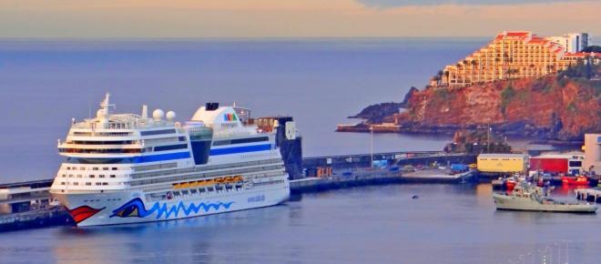 Aida Blu regressou hoje à Madeira