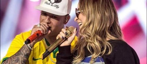 Claudia Leitte fez feat com Daddy Yankee