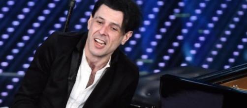 Il maestro Ezio Bosso a Sanremo.