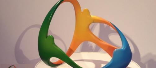 Logo dei giochi olimpici Rio 2016