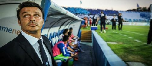 Massimo Oddo, attuale allenatore del Pescara