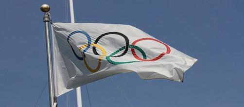 Olympic flag/ Photo:Scazon via Flickr
