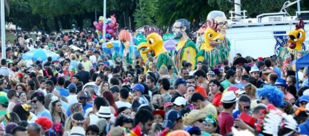 Bloco Galinho em Brasilia bombou.