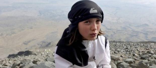 Dor Geta Popescu-fetița alpinistă