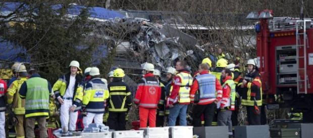 foto de la operación de salvamento en Baviera