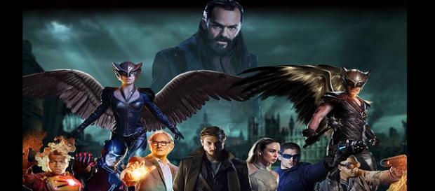 Heróis e Vilões se unem para salvar o mundo.