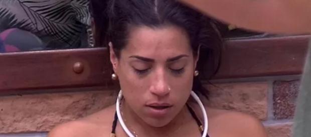Juliana chora no Big Brother Brasil