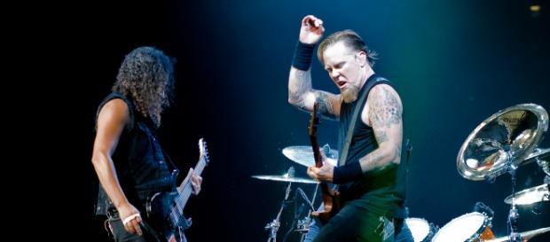 Metallica está grabando su próximo disco