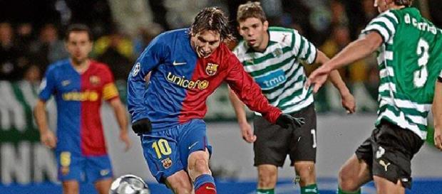 O que liga Messi e o Sporting CP?