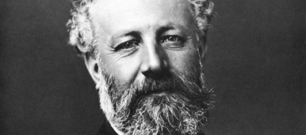 Retrato de Julio Verne, un genio visionario