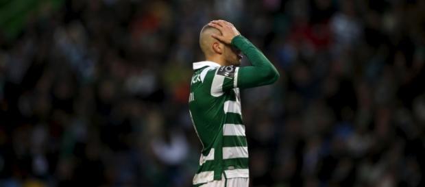 Slimani pode não jogar contra o Benfica
