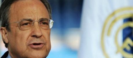 """Presidente del Real Madrid """"Florentino Pérez"""""""