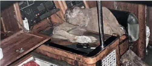 Así se encontró el cuerpo momificado