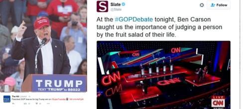 Donald Trump and Rest of GOP Debate