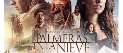 Palmeras en la nieve basada en novela de Luz Gabás