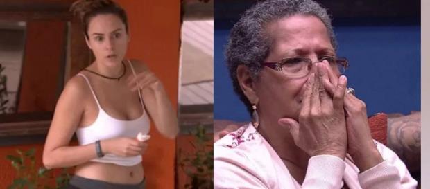 A Ana Paula perdeu paciência com Dona Geralda