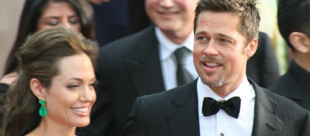 Angelina Jolie und Brad Pitt im Jahr 2009