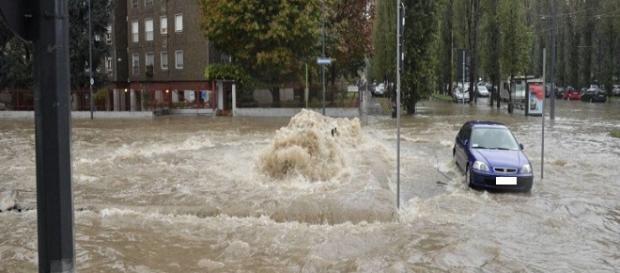 Esondazione del Seveso, foto di Repubblica
