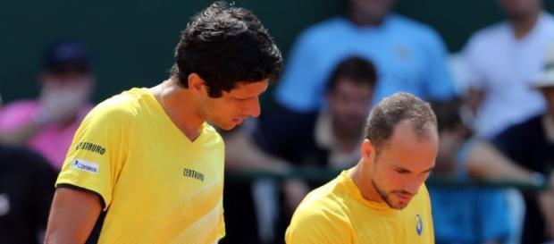 Melo e Soares costumam jogar juntos pela Davis