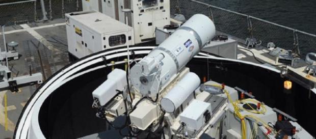 Navy Laser Cannon (Defense Dept)