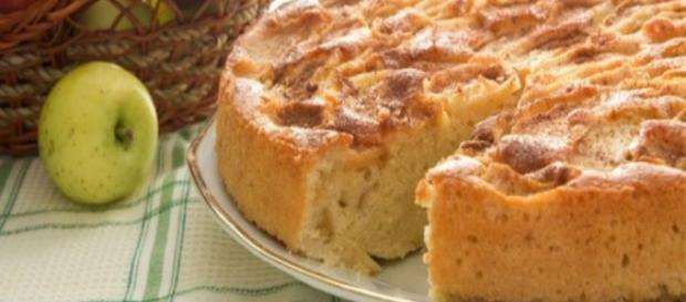Ricetta della torta pane e mele