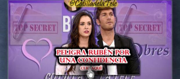 Rubén peligra por una confidencia