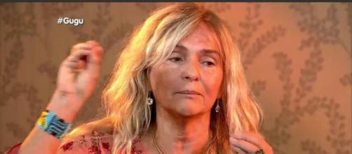 BRitta, mãe de Rian (Reprodução/Record)