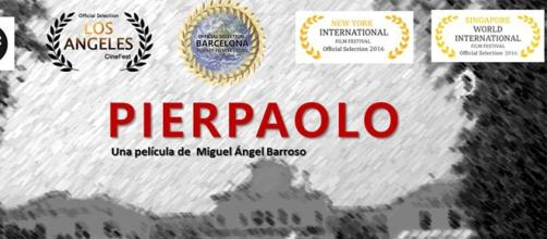 Cartel del documental Pier Paolo.