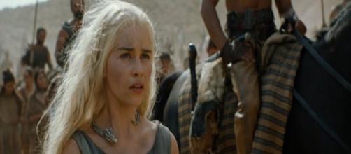 Daenerys Targaryen en el tráiler