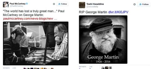 George Martin - Fifth Beatle - George RR Martin
