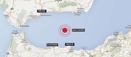 Registrado un seísmo en Malaga cde 4,5 de magnitud