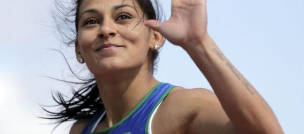 Ana Cláudia Lemos é a principal velocista do país