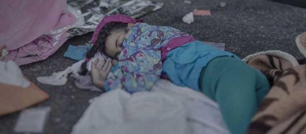 Así Duerme Shehd de 7 años de edad.