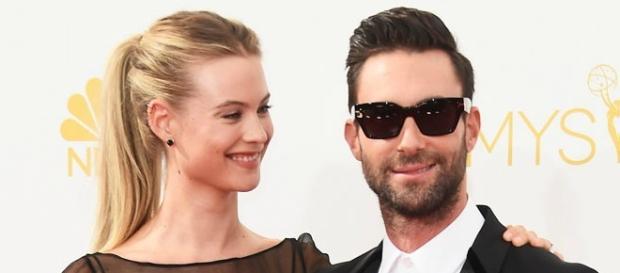 O casal na cerimónia dos Emmys em 2014.