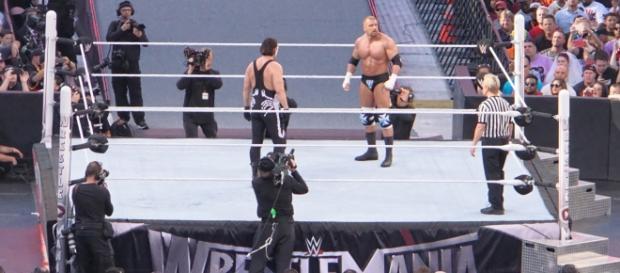 Triple H & Sting [via Flickr.com/miguel_discart]