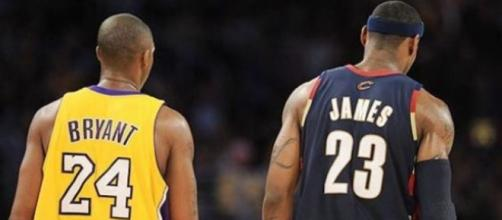 End of a era tra Bryant e James